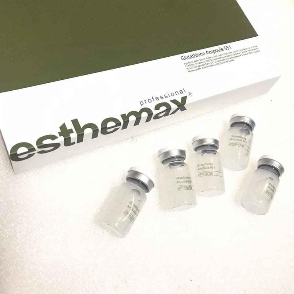 Serum trắng da Esthemax Glutathione Ampoule 551