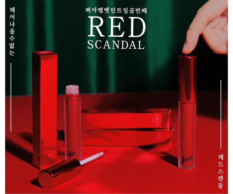 BBia Ver 7 - Son Kem BBia Last Velvet Lip Tint Version 7 Red Scandal (bản đỏ)