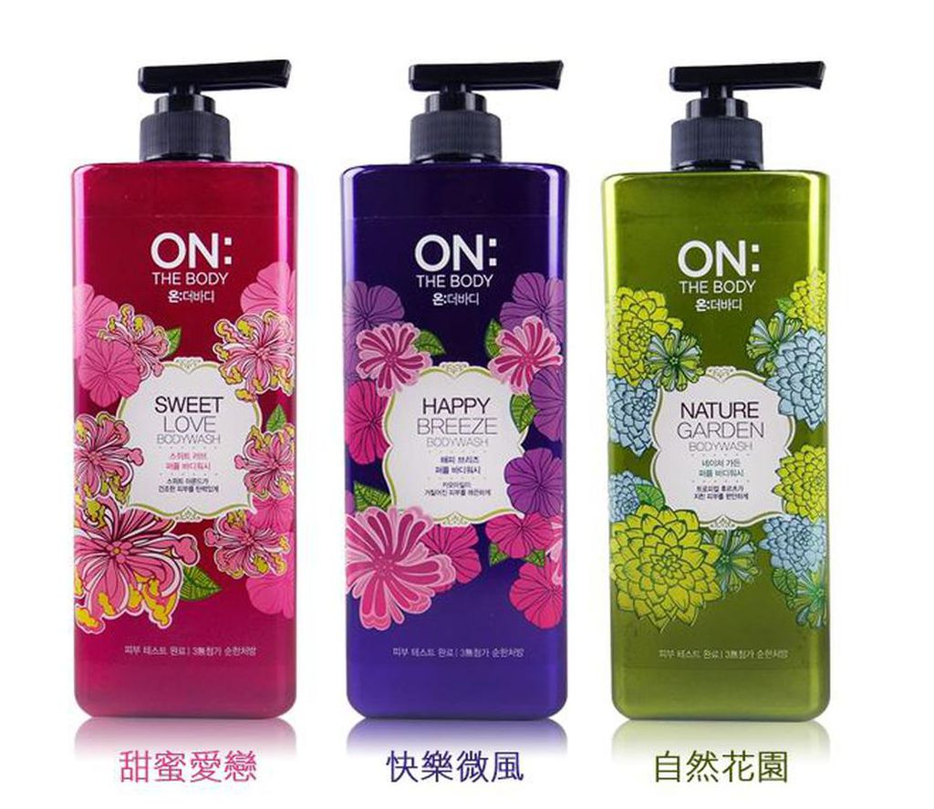 Sữa tắm ON:THE BODY 875ml