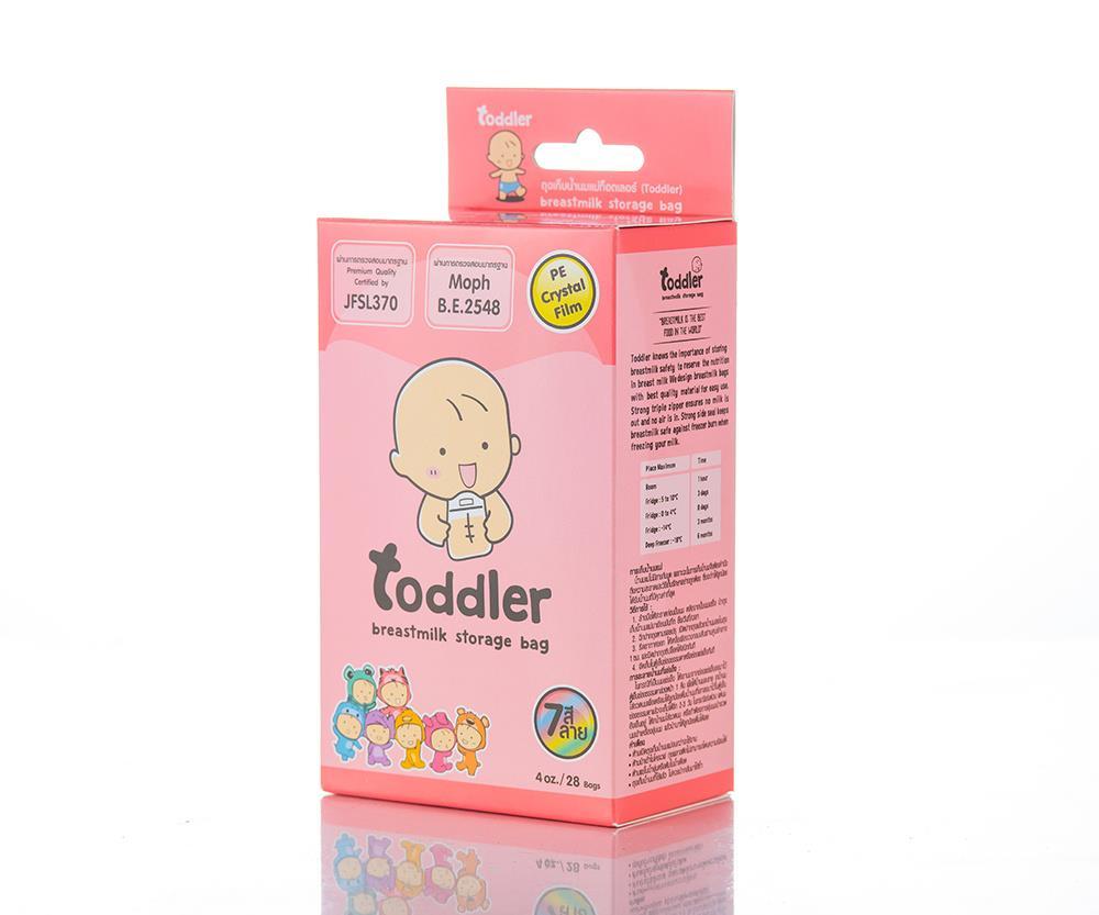 Túi trữ sữa Toddler 110ml hộp 28 túi