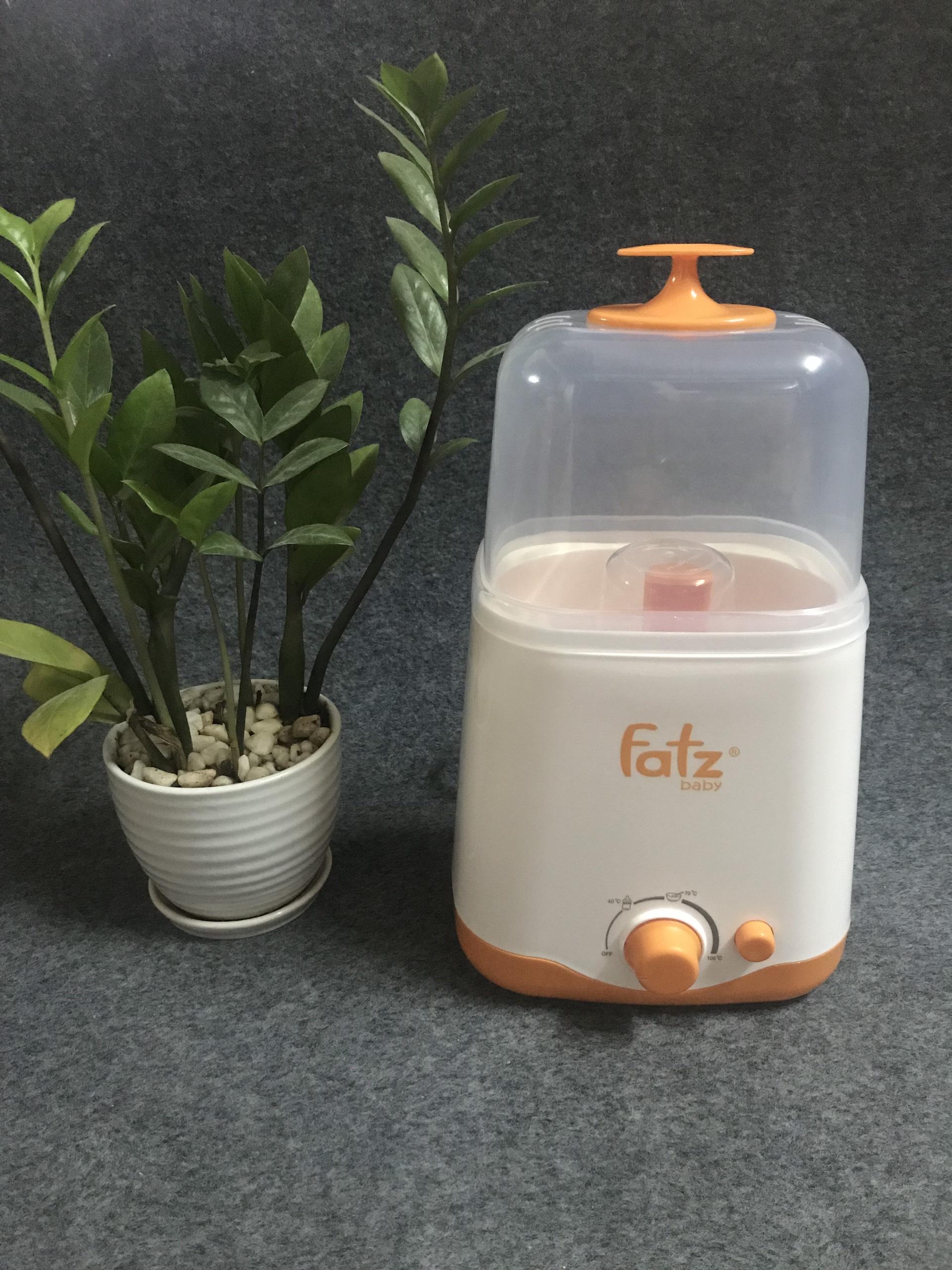 Máy hâm sữa 2 bình cổ rộng đa năng thế hệ mới Fatzbaby FB3012SL