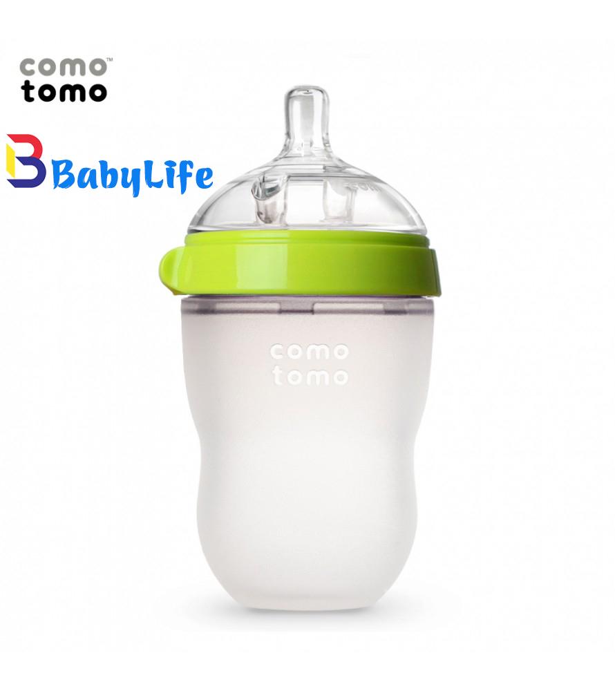 Bình sữa comotomo 250ml- Xanh