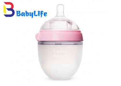 Bình sữa Comotomo 150ml Hồng