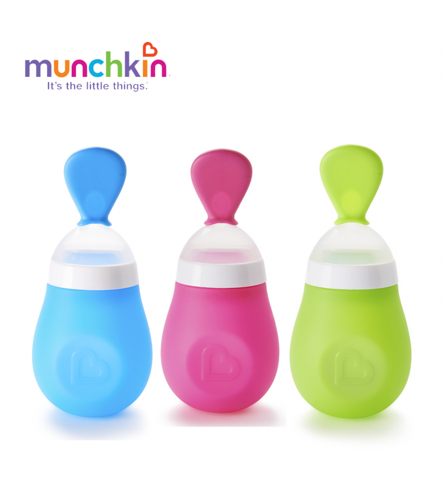 Bình thìa ăn dặm Munchkin
