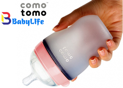 Bình sữa comotomo 250ml- Hồng