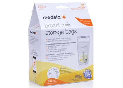 Túi trữ sữa medela 180ml hộp 50 túi