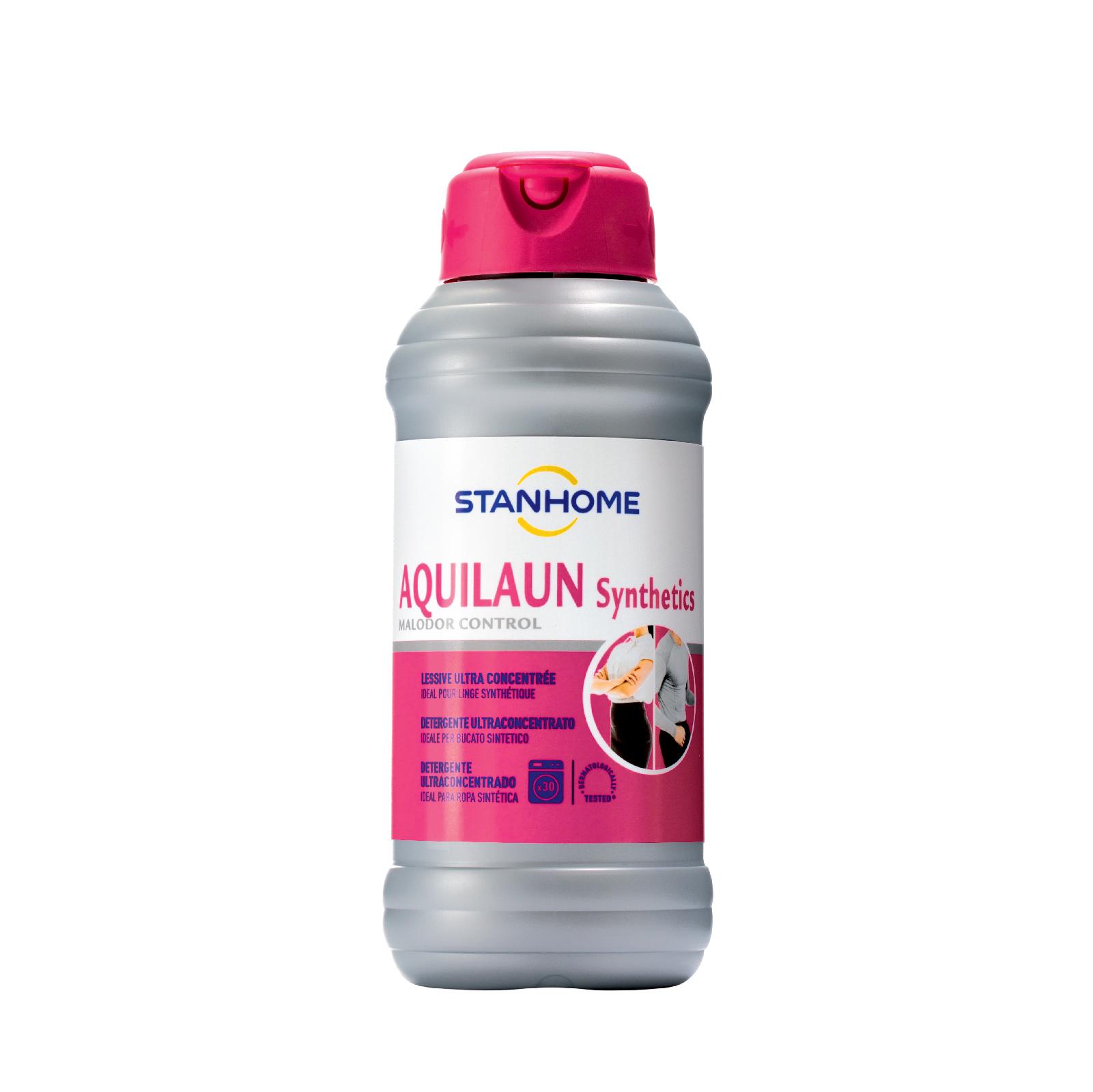 Nước giặt đậm đặc khử mùi, giảm tĩnh điện cho quần áo Stanhome Aquilaun Synthetics 750ml