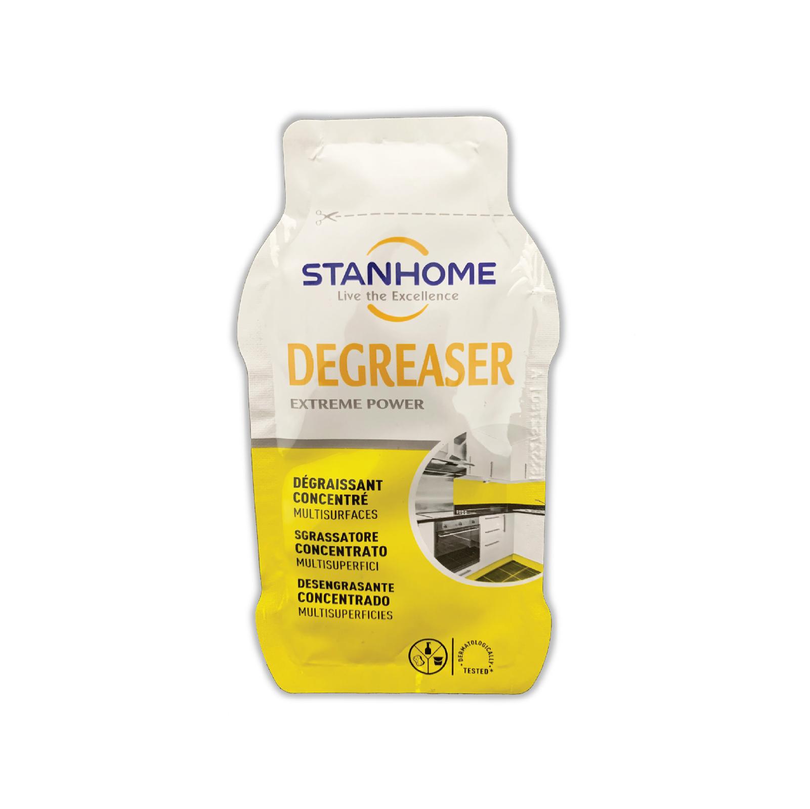 Gói mẫu dùng thử Dung dịch loại bỏ dầu mỡ đa năng Stanhome Degreaser 20ml/gói