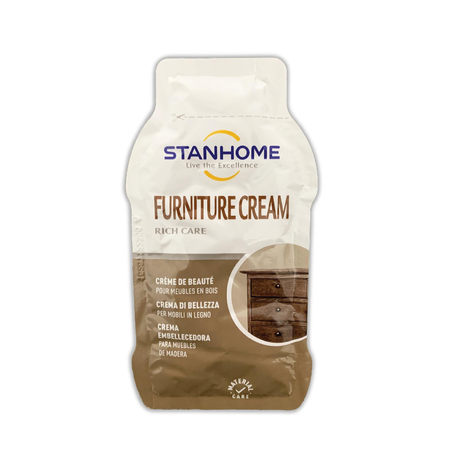 Gói mẫu dùng thử Kem dưỡng làm sạch đồ gỗ Stanhome Furniture Cream 25ml/gói