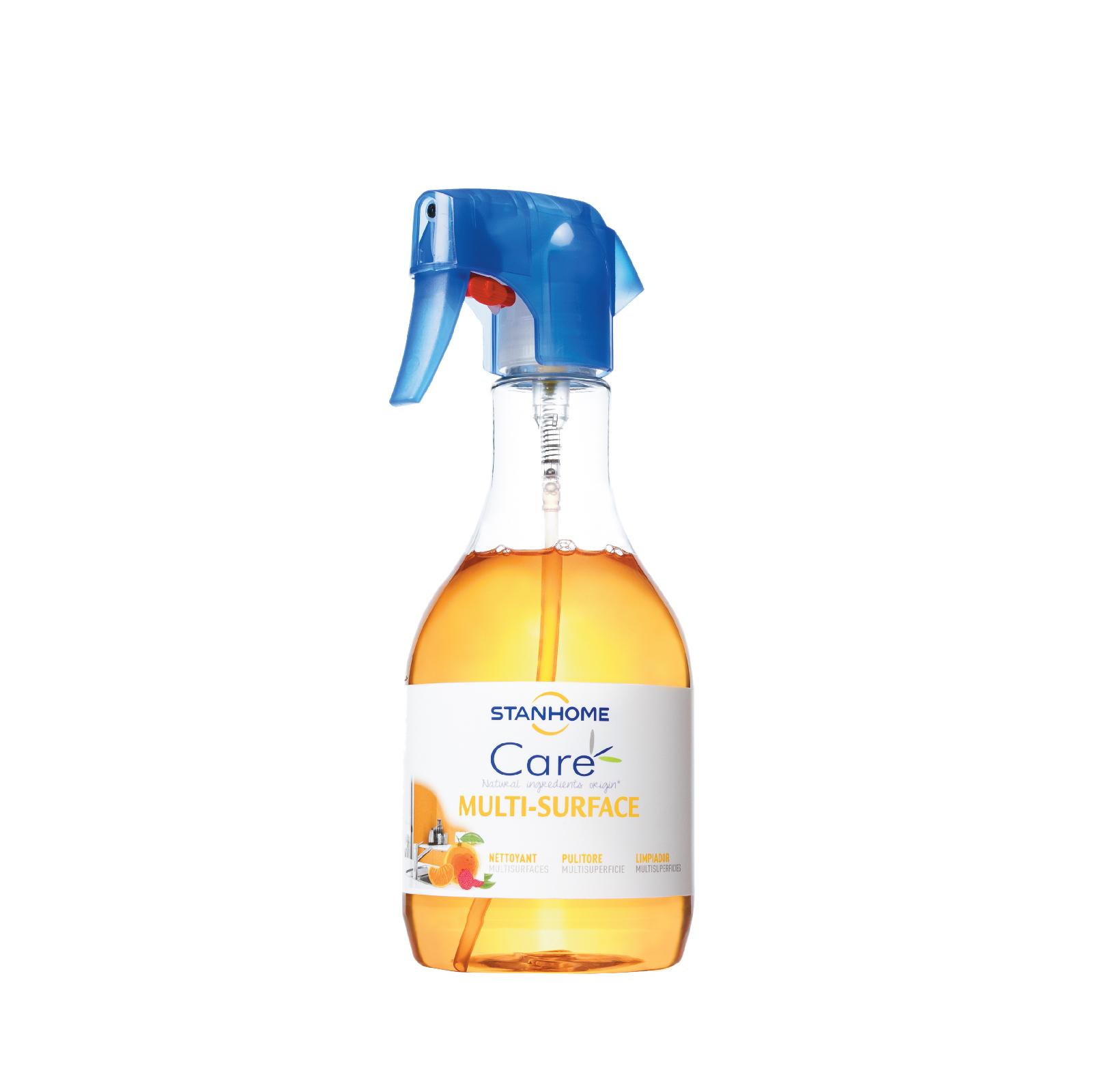 Xịt làm sạch đa năng cho da nhạy cảm hương quýt, vải Stanhome Multi Surface Care Mandarine & Litchi 500ml