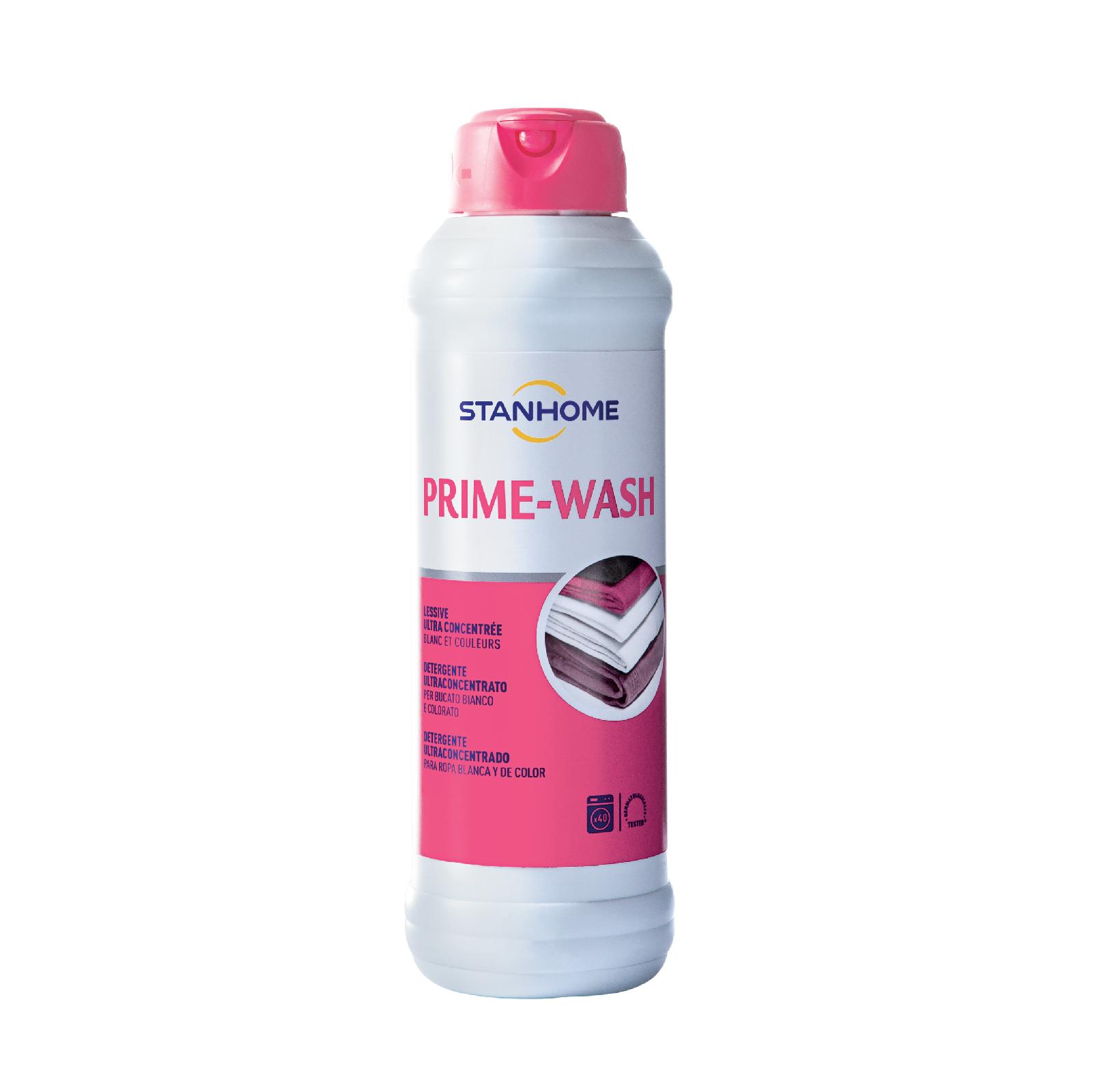 Nước giặt đậm đặc cho đồ trắng và sáng màu Stanhome Prime Wash Extra 1000ml