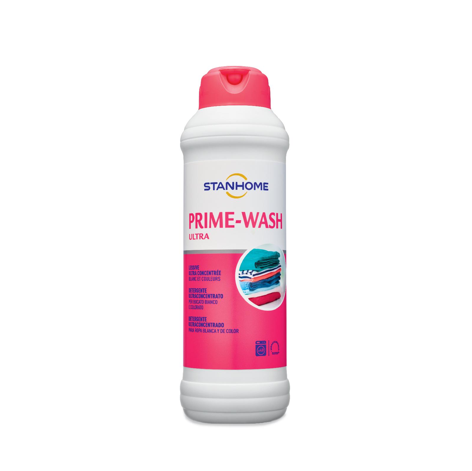 Nước giặt đậm đặc cho đồ trắng và sáng màu Stanhome Prime Wash Ultra 1000ml