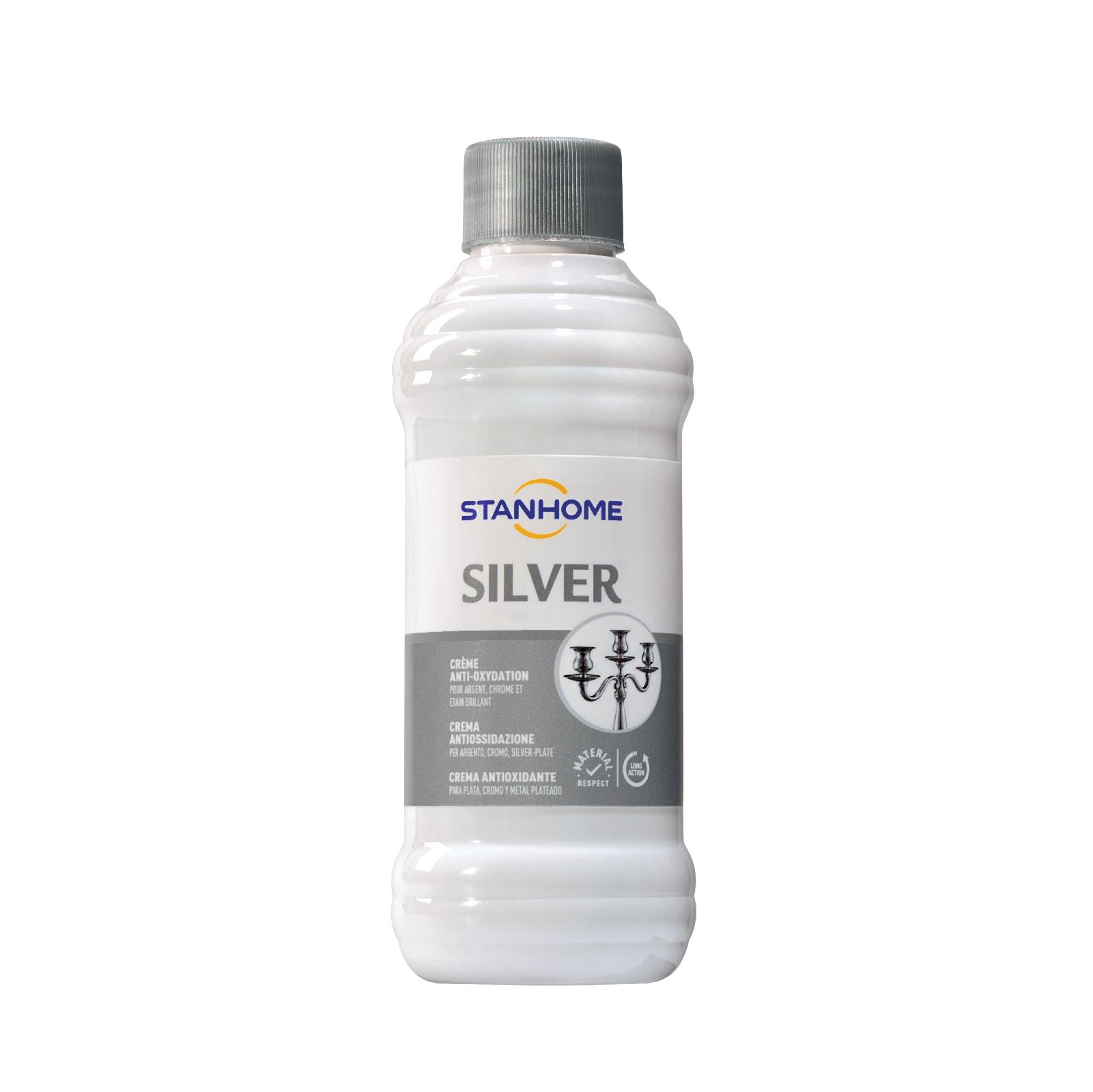 Kem làm sáng bóng cho đồ bạc, trang sức  Stanhome Silver 250ml