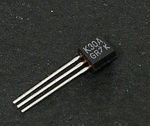 2S K30A MOSFET N 50V 100mA TO-92 (4A17.1)