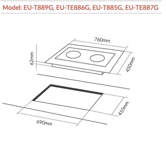 Kết quả hình ảnh cho EU-TE887G