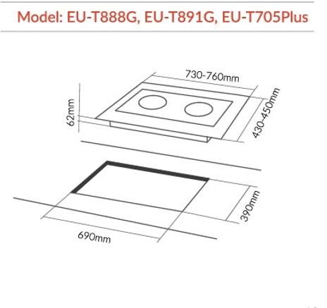 Kết quả hình ảnh cho EU-T705plus