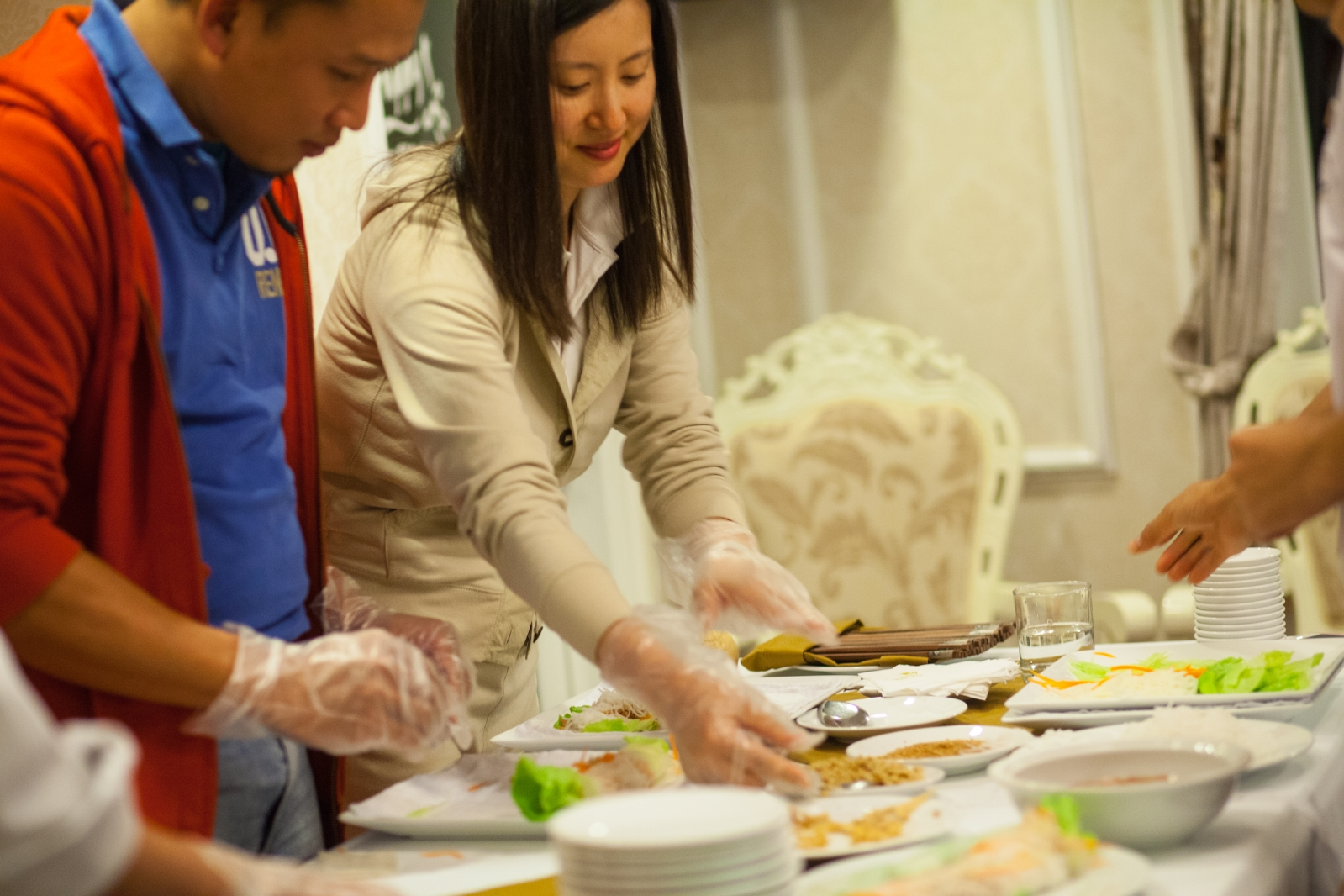 Cooking Demonstration in Signature Ha Long Cruise