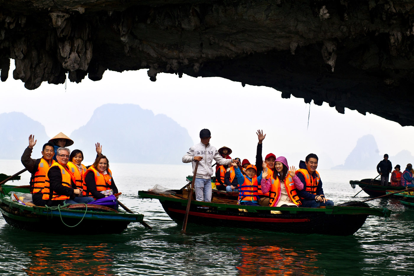 Kayaking in Halong Bay with Siganture HaLong Cruise