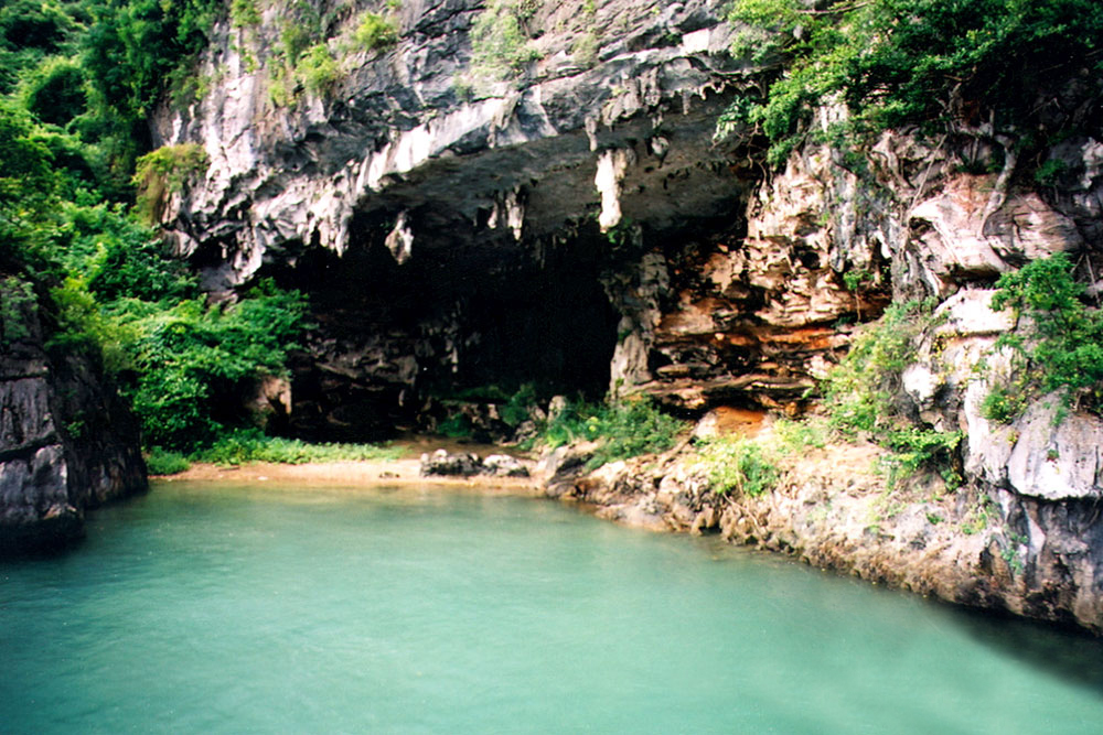Trong Cave in halong bay