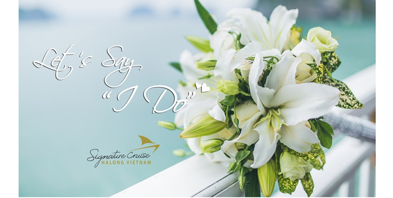 Wedding cruise offer on Signature Ha long Cruise