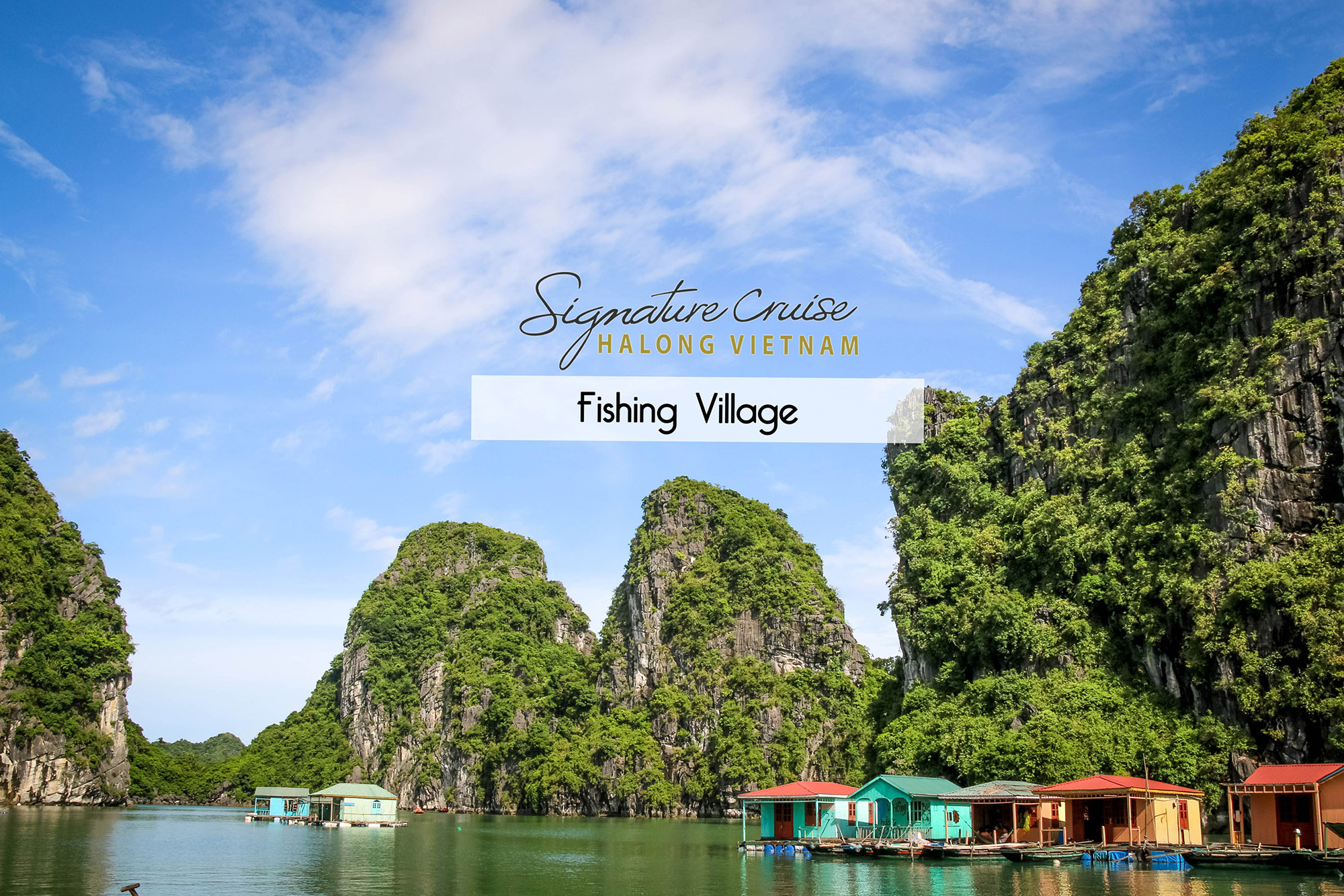 Vung Vieng Fishing Village in Ha Long Bay