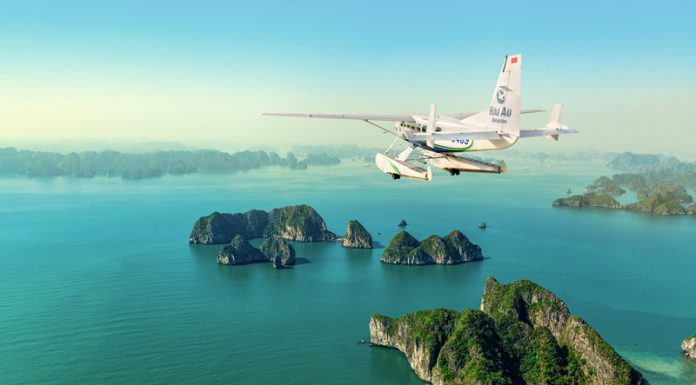 Seaplane In Halong Bay with Signature Halong Cruise