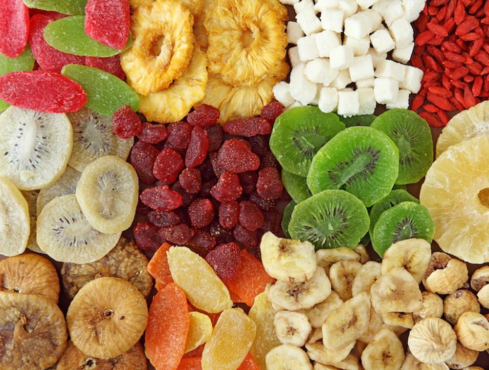 Hoa quả sấy khô tiềm ẩn những mối nguy hại cho sức khỏe - ADS ...