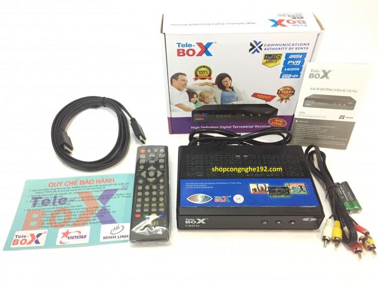 Đầu thu kỹ thuật số DVB T2- Tele T201S