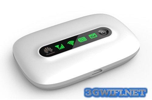 Router wifi 3G huawei e5331 được thiết kế đẹp mắt
