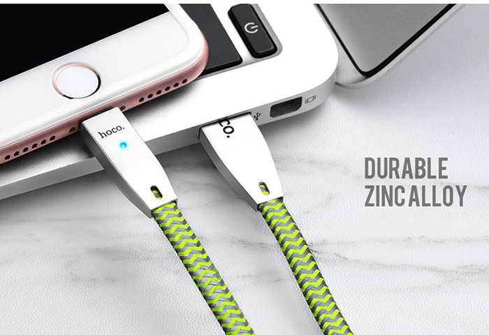 Dây cáp sạc tự ngắt Hoco U11 Lightning cho iphone 13