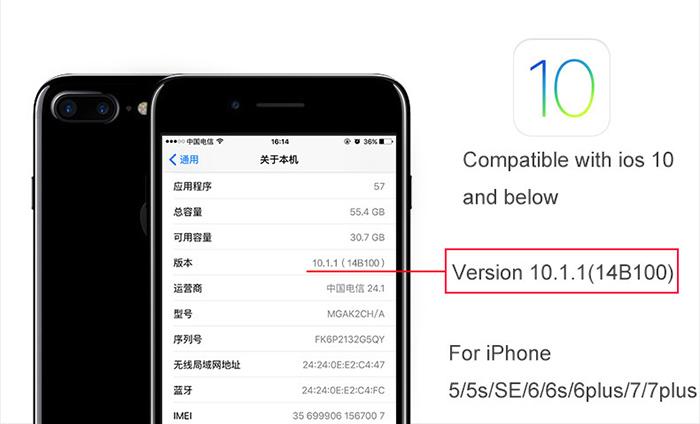 Dây cáp sạc tự ngắt Hoco U11 Lightning cho iphone 6