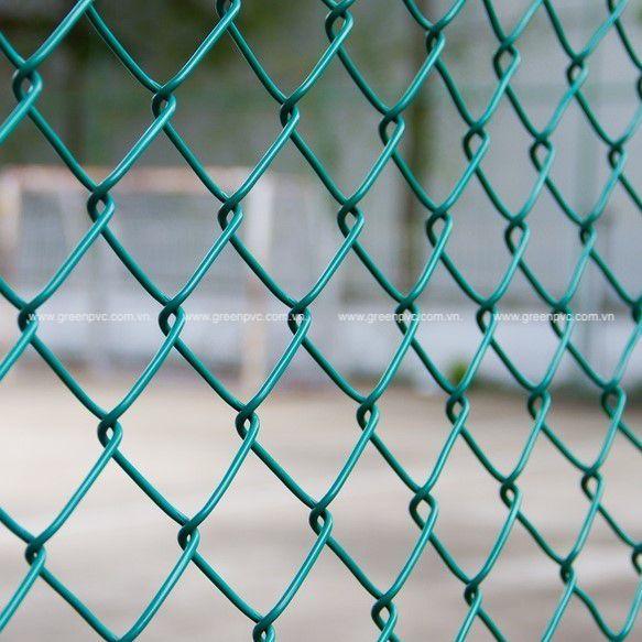 Hạt nhựa PVC Compound bọc hàng rào