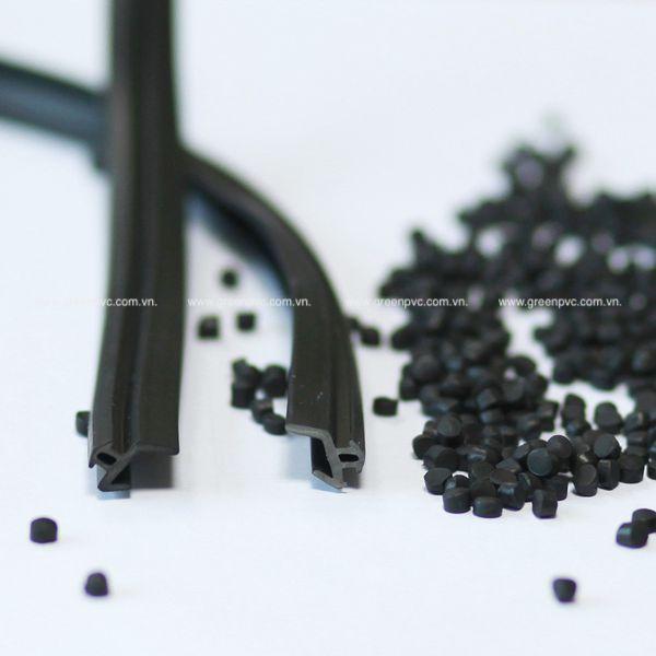 Hạt nhựa PVC Compound mềm: gioăng cửa