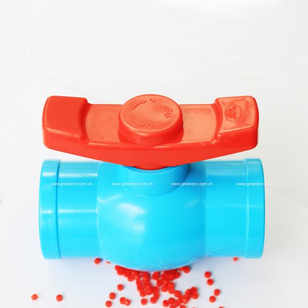 Hạt PVC Compound cứng: Van khoá
