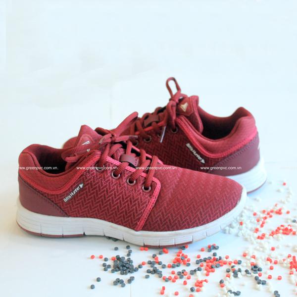 Hạt nhựa pvc compound xốp: Ép phun đế giày