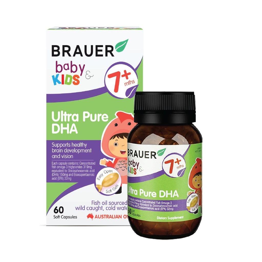 Tăng trí tuệ sự thông minh cho trẻ DHA chính hãng Úc tặng kèm 1 chai nước hoa chiết chính hãng 30ml