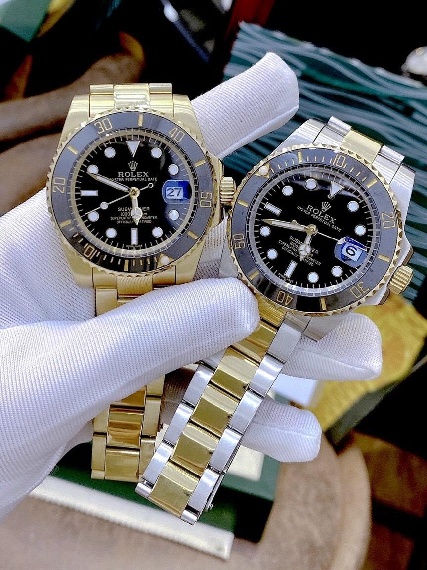 Rolex Prestige Water Ghost Series Đồng hồ nam cơ khí Hoàn toàn tự động Chuyển động cơ học Khoáng chất Mặt gương siêu thời trang cổ điển