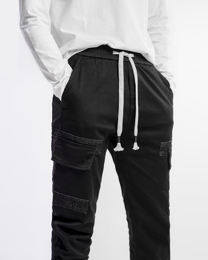 Draw String Cargo Pants