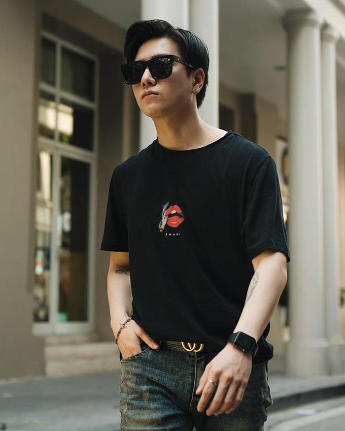 Amand Smooker Lip T-Shirt