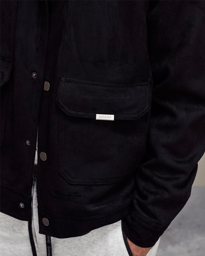 Beige Suede Jacket