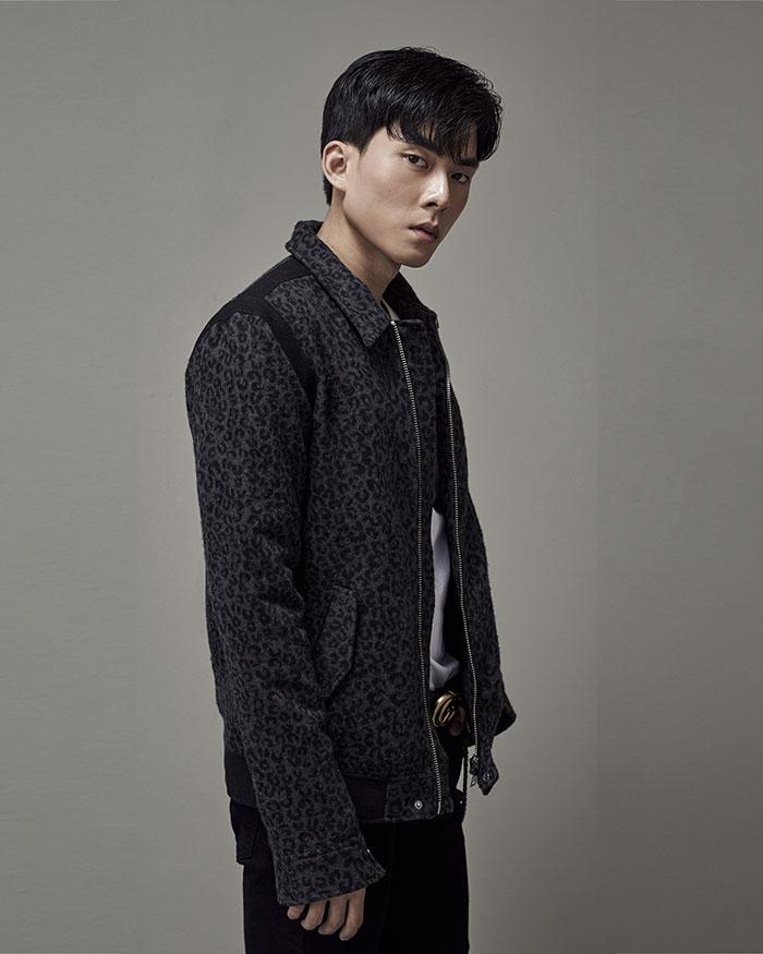 Dark Leopard Teddy Jacket