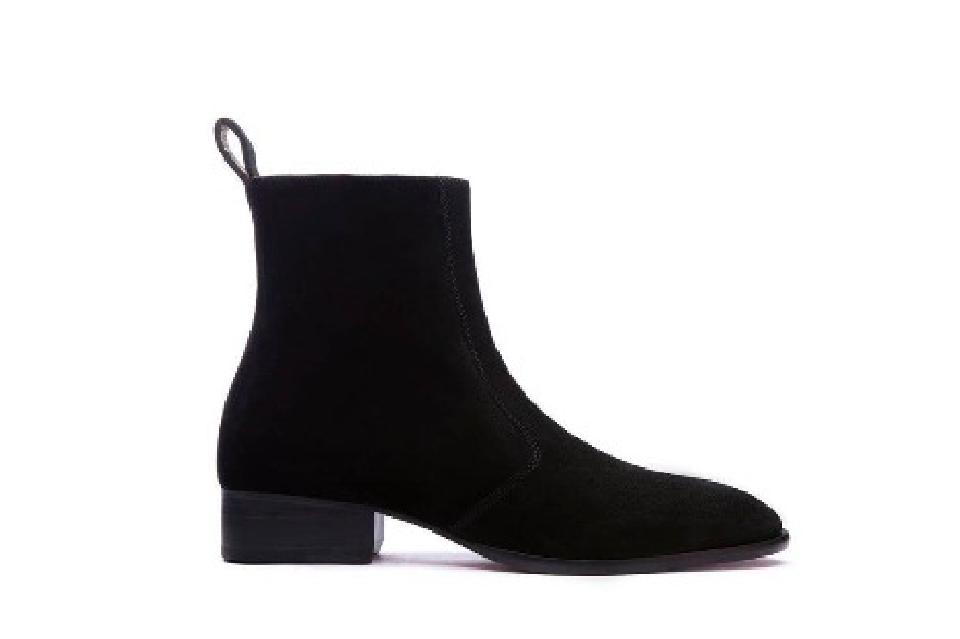 Giày BOOT Signature Da Lộn
