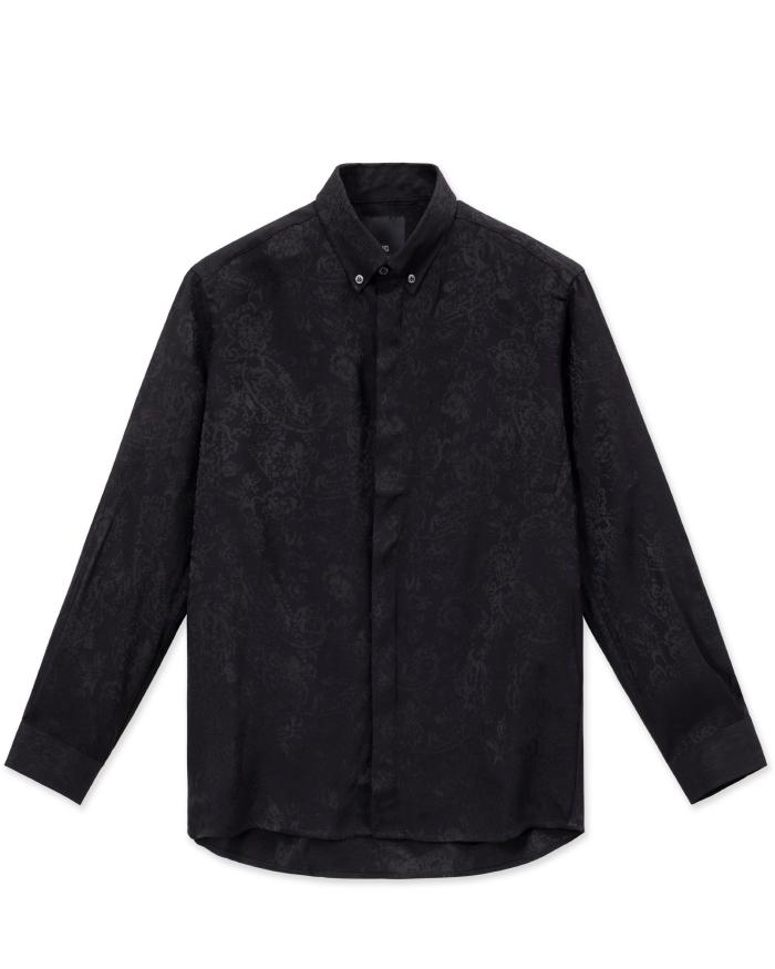 Double Black Long Sleeve Shirt