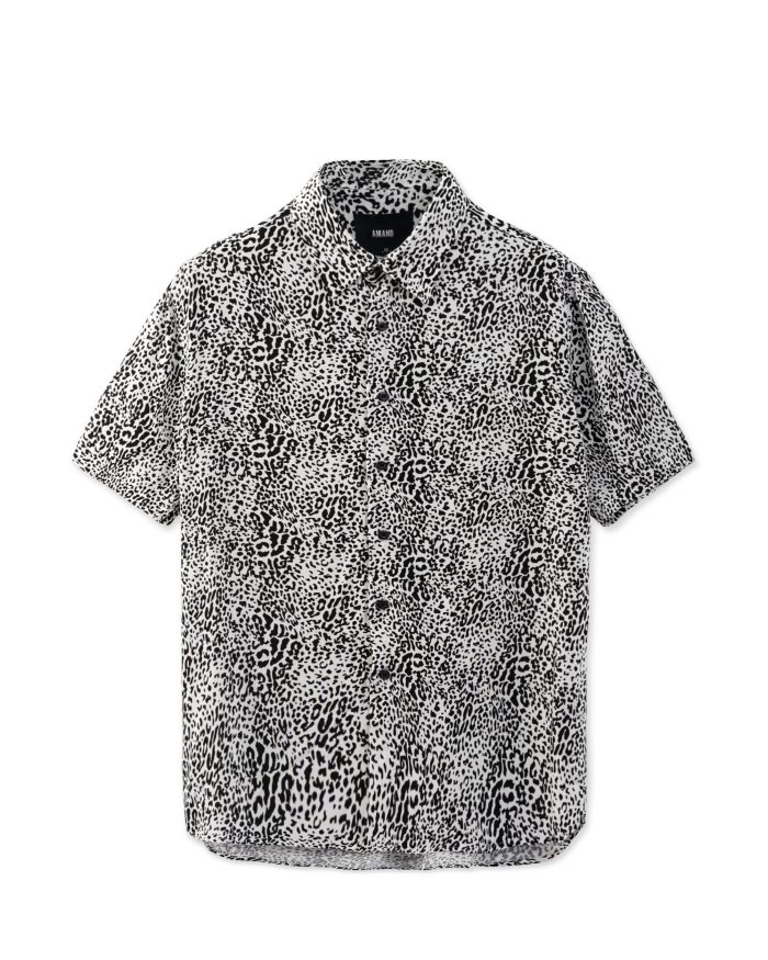 Snow Leopard Patern Shirt