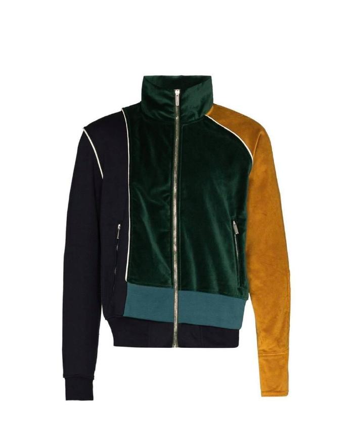 Mixed Materials Jacket