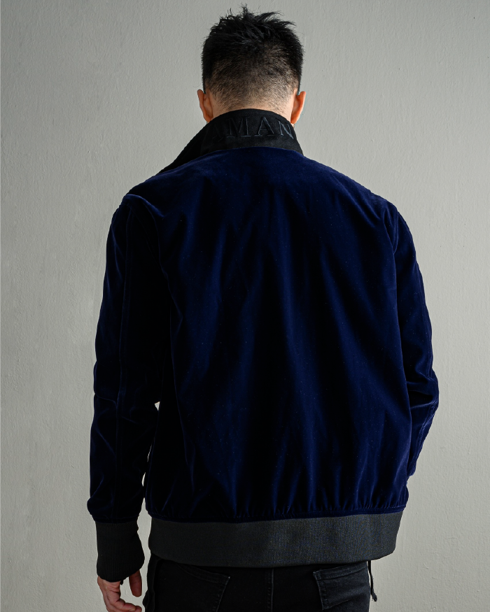 Suede Velvet Jacket