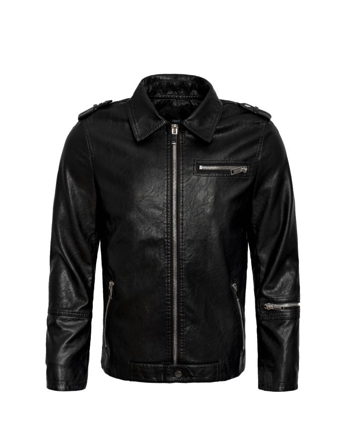 Essential Leather Jacket