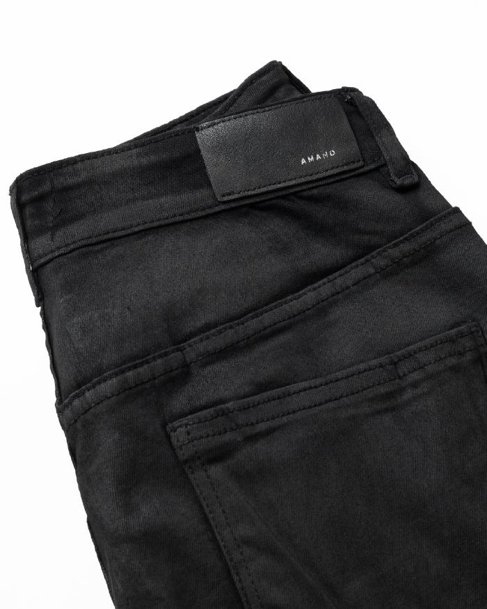Biker Waxed Jeans