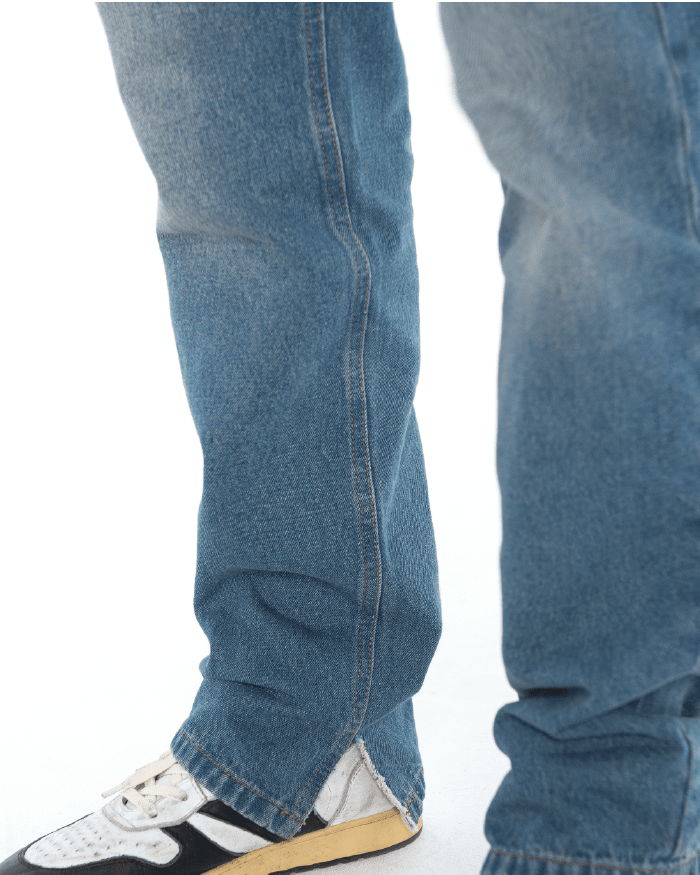 Teared Cuff Jeans