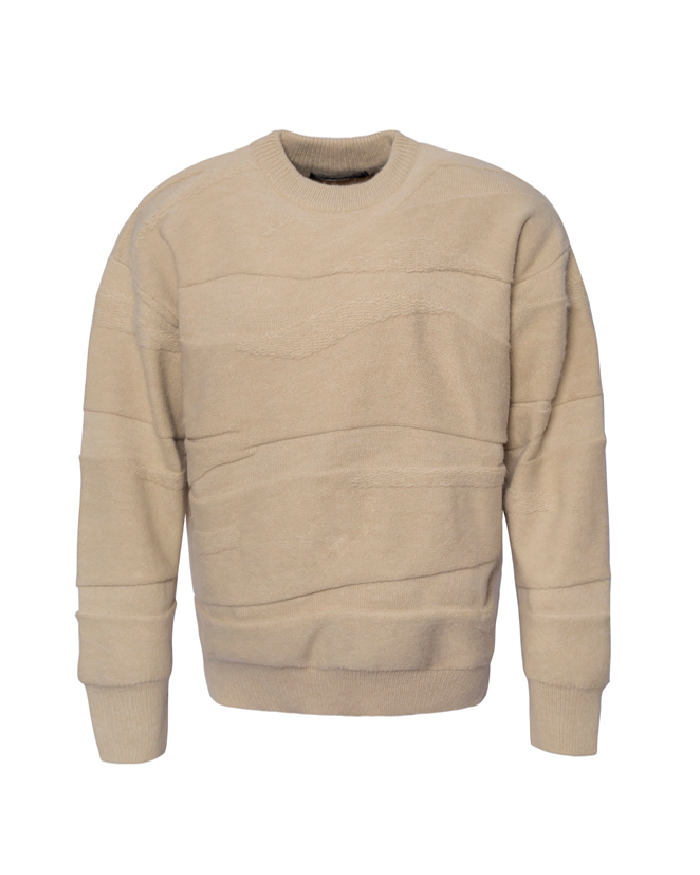 3D Texture Wool Sweater